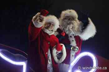 Holiday Santa Drive-By Planned In LaSalle   windsoriteDOTca News - windsoriteDOTca News