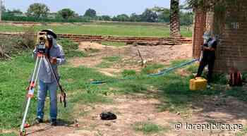 Lambayeque: acuerdan comprar terreno de pozo tubular en distrito de Pacora - LaRepública.pe