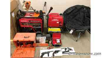 Innisfail couple charged with stealing tools, generators from Sundre area - rdnewsnow.com