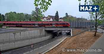 Blankenfelde-Mahlow: Chaos während des Baus der Dresdner Bahn - Märkische Allgemeine Zeitung
