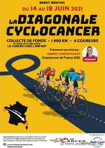 Cyclo: Brest - Menton, avec le Team Cyclo Cancer, du 14 au 18 juin - Cyclism'Actu
