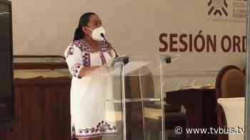 Ante el Congreso Diputada Arcelia López denuncia ser víctima de violencia política en razón de género - TV BUS Canal de comunicación urbana