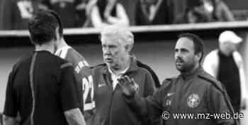 """Günter """"Jonny"""" Meinert aus Thale starb mit 79 Jahren: Er war bei Stahl Thale Mannschaftsleiter, Betreuer und Busfahrer der Fußballer - Mitteldeutsche Zeitung"""