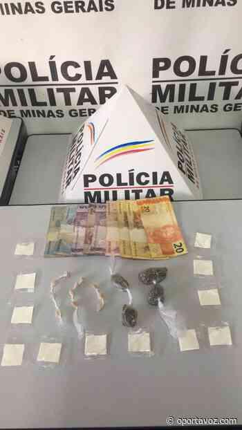 POLÍCIA MILITAR DE CAMPO BELO PRENDE TRAFICANTE NO BAIRRO CIDADE JARDIM DOIS   CLUBE OPZ - O Porta Voz
