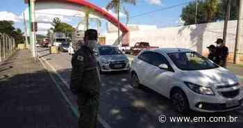 COVID-19: Campo Belo vai colocar barreiras durante feriado antecipado em SP - Estado de Minas