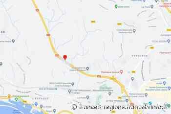 Vitrolles : double accident sur l'autoroute A55, la circulation est coupée - France 3 Régions