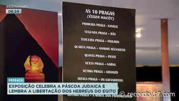 Exposição celebra páscoa judaica em Laranjeiras, na zona sul do Rio - Record TV