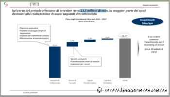 2021 ANNO DI INVESTIMENTI, SILEA PUNTERÀ POI SULL'ECONOMIA CIRCOLARE - Lecconews