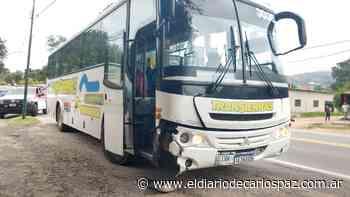 Una mujer herida en un choque múltiple en Valle Hermoso - El Diario de Carlos Paz