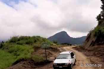 Piura: se mantiene el tránsito vehicular en la carretera Canchaque-Huancabamba - Agencia Andina