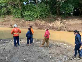 Encontraron presunto planchón artificial en río Animito de Curumaní - ElPilón.com.co