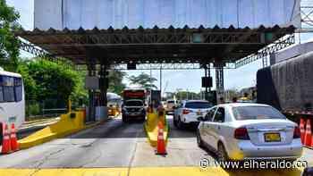 Crece el malestar por la tarifa del peaje de Baranoa - EL HERALDO - EL HERALDO
