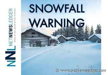 Weather Update - Snowfall Warning - Atikokan - Raith - Upsala - Shebandowan - Net Newsledger