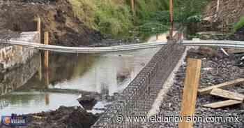 SUOP Morelia supervisa rehabilitación de puente vehicular en col. Mariano Abasolo - El Diario Visión