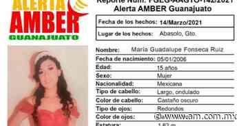 Desaparece María Guadalupe Fonseca Ruiz en el municipio de Abasolo; activan alerta Amber - Periódico AM