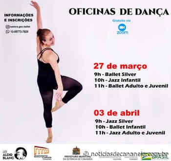 Cananeia conta com oficinas de dança gratuita, não perca essa oportunidade! - Noticia de Cananéia