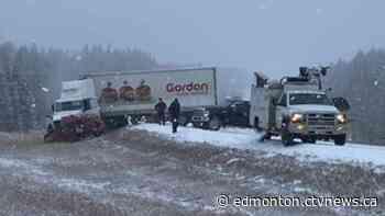 Edmonton woman, 29, dead after fatal highway collision near Westlock - CTV Edmonton