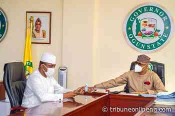 Ex-Speaker Bankole meets Abiodun, Osoba in Abeokuta - NIGERIAN TRIBUNE