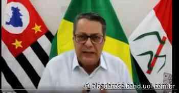 'Zóio tapado', diz prefeito do Pirassununga sobre pessoas que negam a covid-19 - Blog da Rose - Band