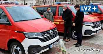 Neue Fahrzeuge für die Wehren Groitzsch, Espenhain und Machern - Leipziger Volkszeitung