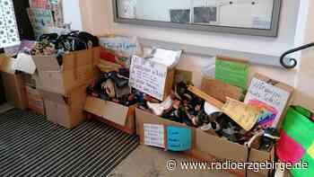 Schuhe aus Annaberg-Buchholz auf den Weg nach Dresden - Radio Erzgebirge