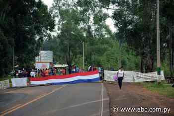 Sigue cierre de ruta en San Juan Nepomuceno - Nacionales - ABC Color