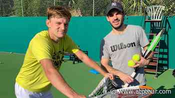 Coach Germain Gigounon On David Goffin: 'We Don't Need To Talk, I Just Get It' - ATP Tour