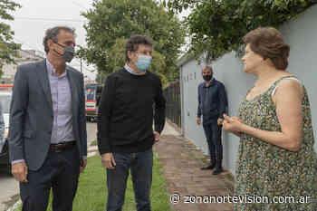 Posse y Katopodis recorrieron los nuevos pavimentos de Boulogne y Villa Adelina - Zona Norte Visión