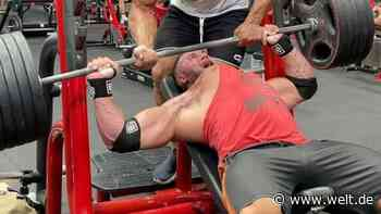 Bodybuilding: Ryan Crowley reißt bei 220-kg-Bankdrücken Brustmuskel - WELT