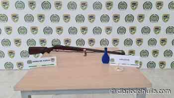 Hallan arma de fuego artesanal en Aipe - Diario del Huila