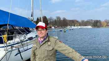 Tourismus: Neuer Hafenmeister von Bad Saarow tourte früher als Musiker durch die Welt - moz.de