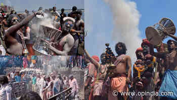 Adbhangi Chita-Bhasm Holi in Varanasi: Photos and videos of the mesmerising ritual where even death is a festival - OpIndia