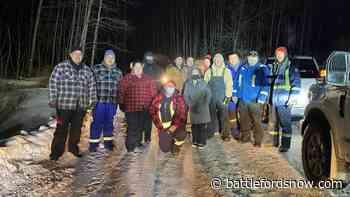 La Loche volunteers rescue stranded semi-truck driver - battlefordsNOW