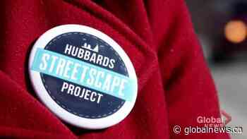 Hubbards streetscape plan secures enough funding   Watch News Videos Online - Globalnews.ca