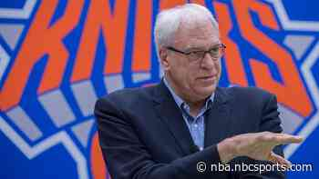 Phil Jackson blames media for his Knicks failings: 'I kind of understand what Trump had to live with'