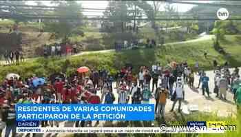 Residentes de Metetí exigen la construcción de un puente e instalaciones hospitalarias - TVN Noticias