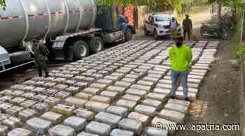 Cayeron 2.798 kilos de marihuana en vía La Dorada-Puerto Salgar - La Patria.com