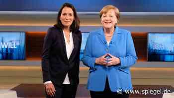 Talkshow-Auftritt der Kanzlerin: Angela Merkel spricht bei Anne Will - DER SPIEGEL
