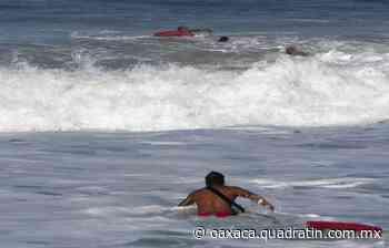 Rescatan salvavidas a joven en Puerto Escondido 17:40 - Quadratín Oaxaca
