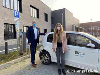 Erste öffentliche E-Ladesäule in Wietze freigeschaltet - Celler Presse