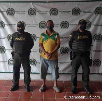 CAPTURADO POR TRAFICO DE ESTUPEFACIENTES EN BARAYA - Diario del Huila