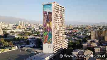 Gigantesco mural de 60 metros de altura ubicado en el Barrio Yungay retrata la igualdad - Diario El Heraldo Linares