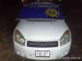 Encuentran vehículo solicitado en Santa Elena de Uairén - Diario Primicia - primicia.com.ve