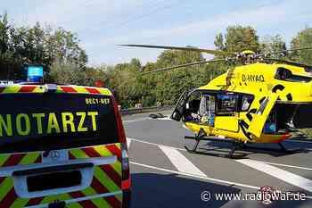 Rettungshubschrauber landet zwischen Münster und Everswinkel - Radio WAF