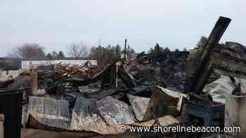 Million-dollar fire razes rural Saugeen Shores woodworking facility - Shoreline Beacon