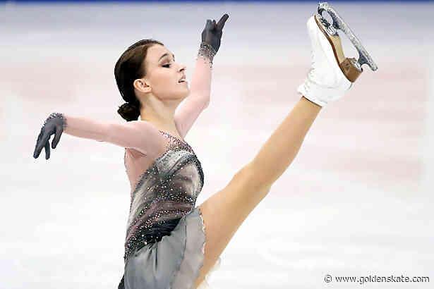 Anna Shcherbakova takes world title in FSR sweep