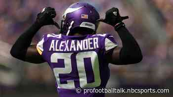 Mackensie Alexander is returning to the Vikings