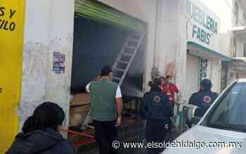 Fuerte flamazo en céntrica tortillería de Apan - El Sol de Hidalgo