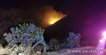 Incendio en cerro de Apan moviliza a rescatistas de tres municipios - Periódico AM
