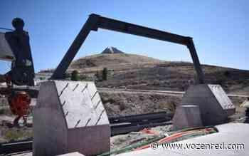 Avanza la construcción del puente peatonal y ciclista parque Encino y Reliz - voz en red